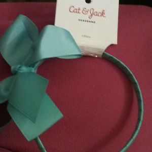 Cat & Jack hairband ( teal)